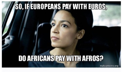 AOC Pay with Afros?